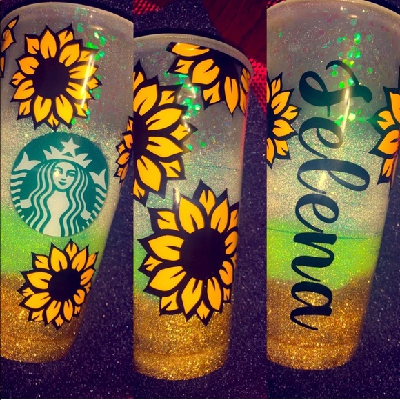 Starbucks venti custom cup.